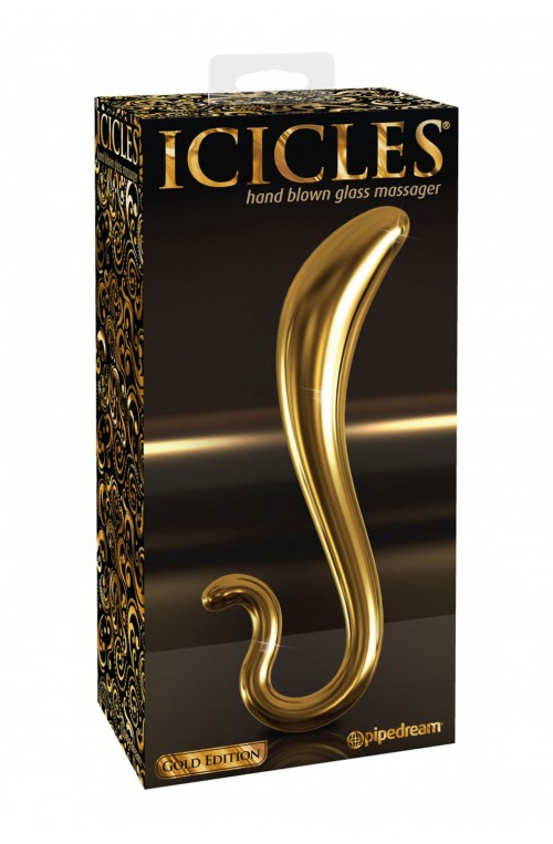 ICICLES GLASDILDO - GOLD EDITION