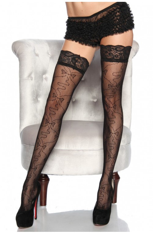 STOCKINGS - SCHWARZ